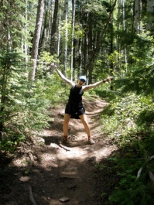 The Trailmonster in Colorado, dying at altitude...